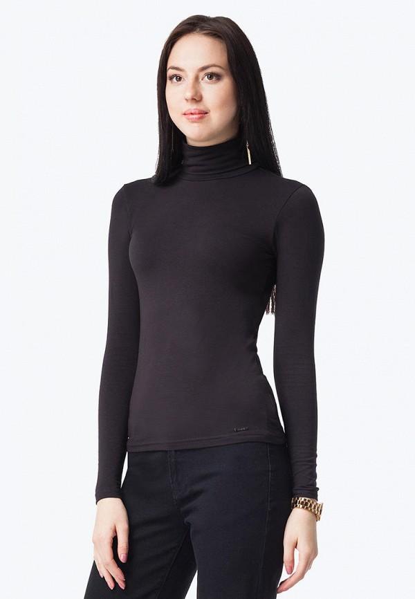 женская водолазка vilatte, черная