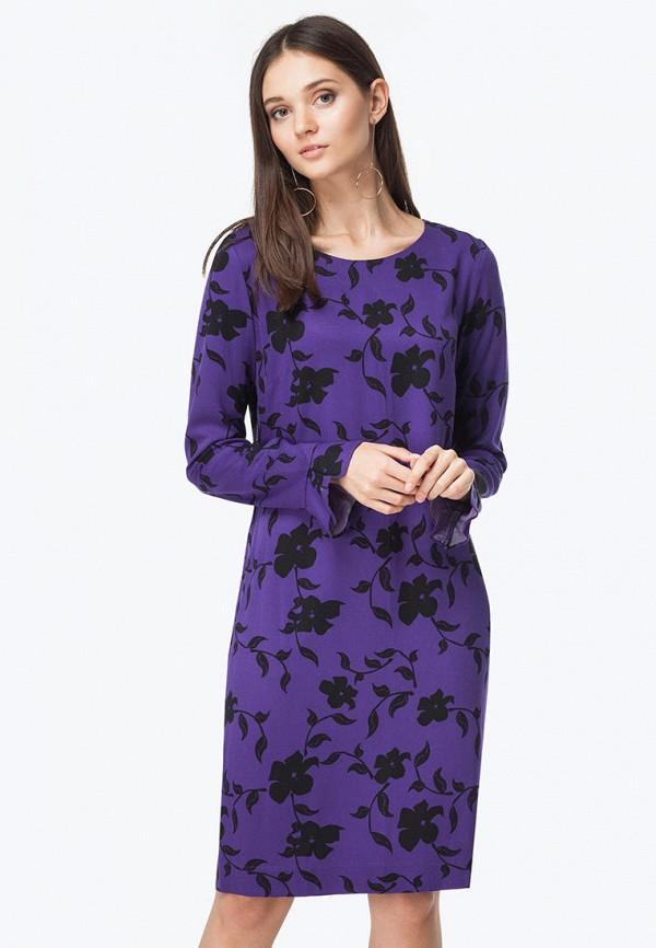 женское повседневные платье vilatte, фиолетовое