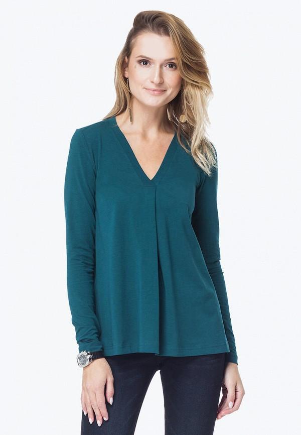 женский лонгслив vilatte, зеленый