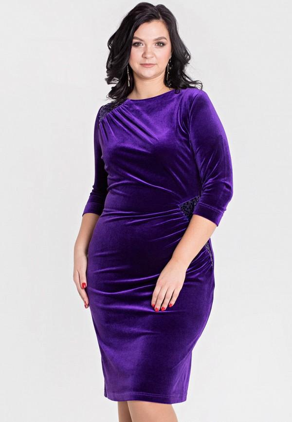 женское платье filigrana, фиолетовое