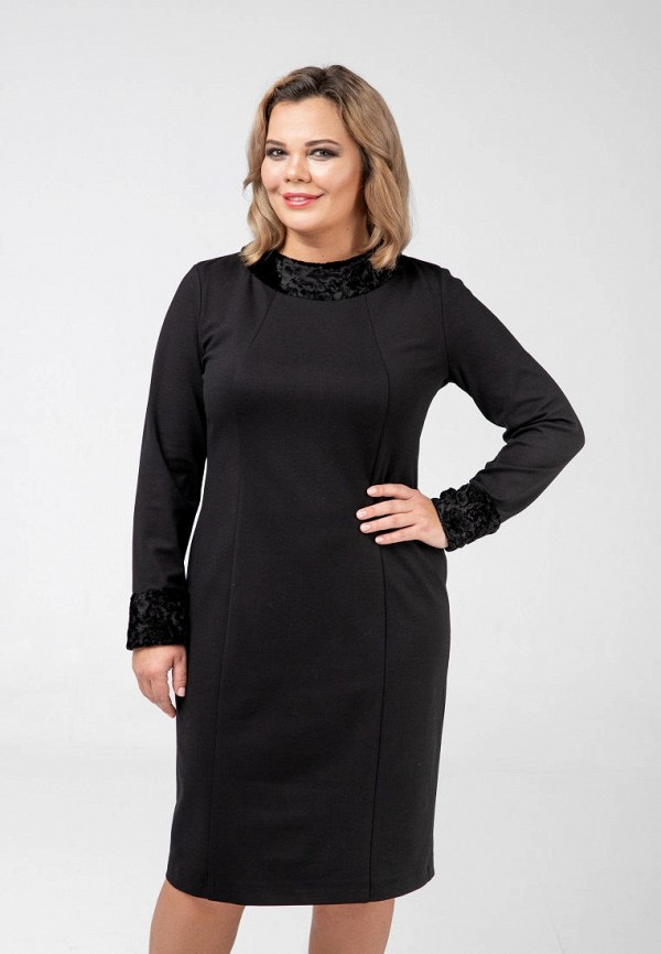 Платье Авантюра Plus Size Fashion Авантюра Plus Size Fashion MP002XW1HVN0 комбинезон emoi size plus emoi size plus em003ewqhq43