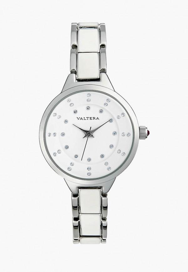 женские часы valtera, серебряные