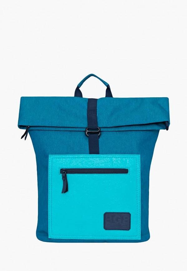 женский рюкзак grizzly, бирюзовый