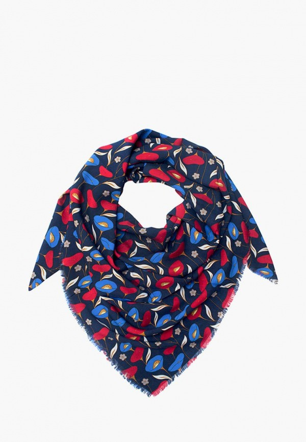 женский платок le motif couture, синий