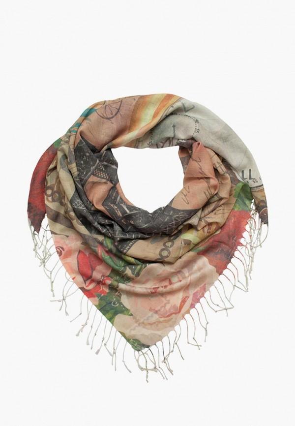 женский платок le motif couture, бежевый