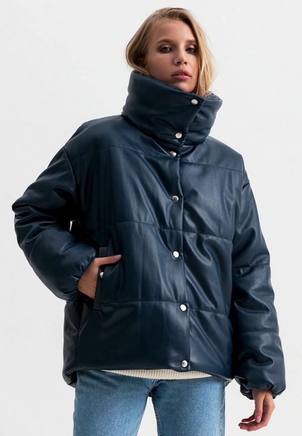 женская куртка ligio, синяя