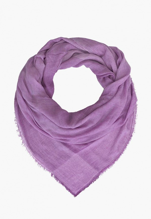женский платок le motif couture, фиолетовый
