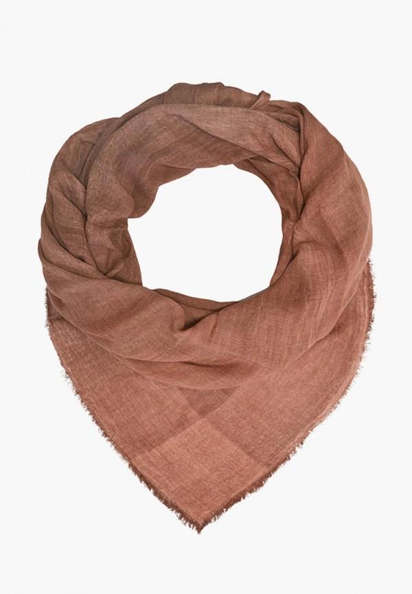 женский платок le motif couture, коричневый