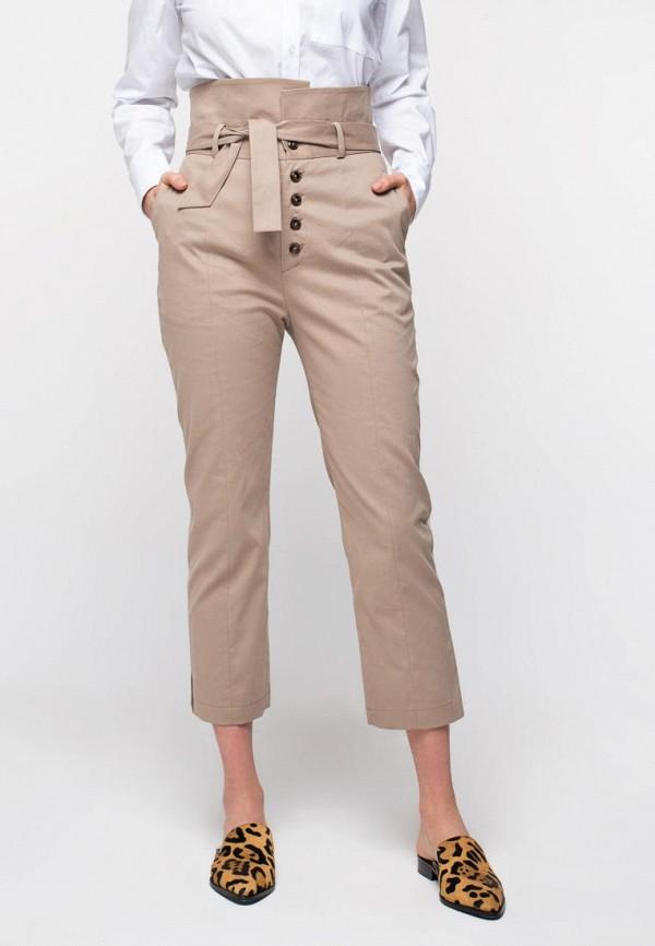 женские повседневные брюки urban streets, бежевые