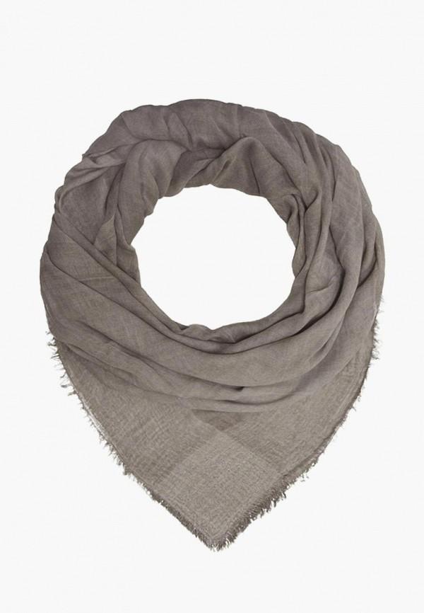 женский платок le motif couture, серый