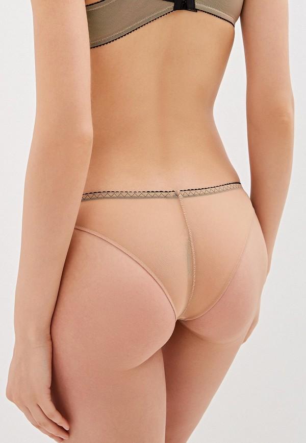 Трусы Ze:Bra lingerie цвет бежевый  Фото 2