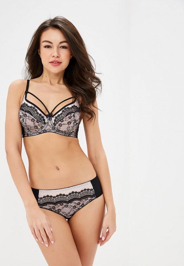 женский бюстгальтер на косточках ze:bra lingerie, розовый