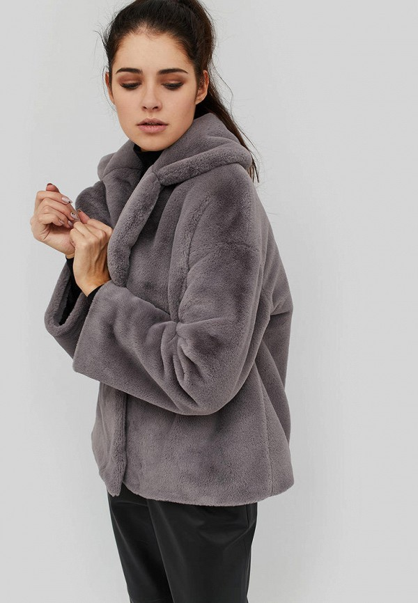 Купить Шуба Cardo, mp002xw1hx96, серый, Осень-зима 2018/2019