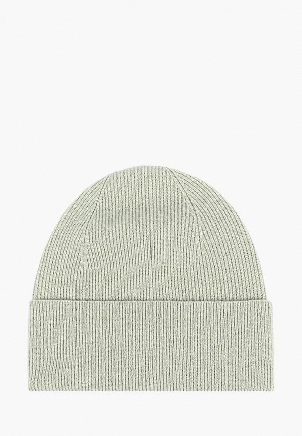женская шапка forti knitwear, зеленая