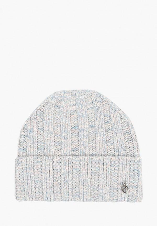 женская шапка forti knitwear, голубая