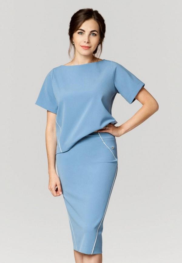 женский костюм ummami, голубой