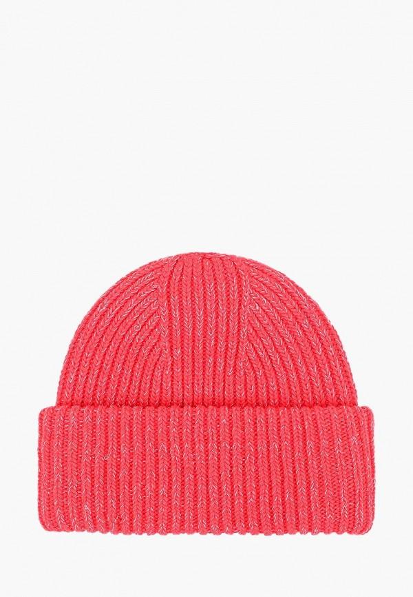женская шапка forti knitwear, красная