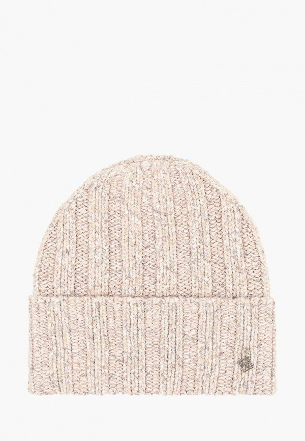 женская шапка forti knitwear, розовая