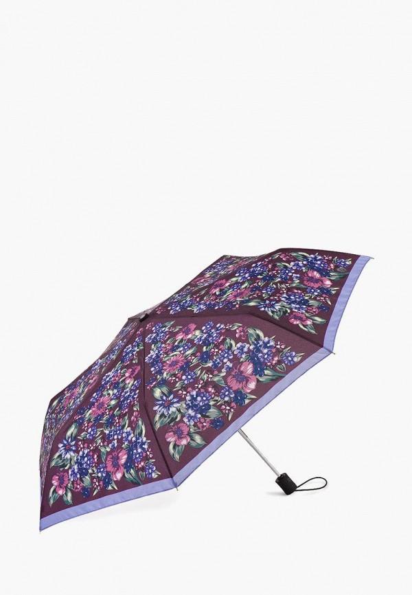 женский складные зонт henry backer, коричневый