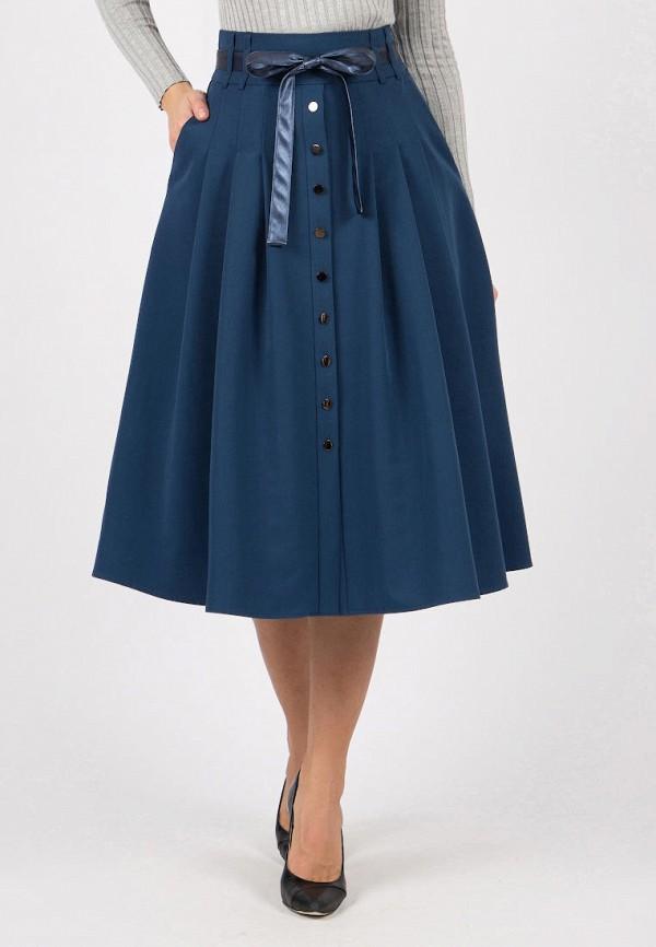 женская юбка olivegrey, синяя