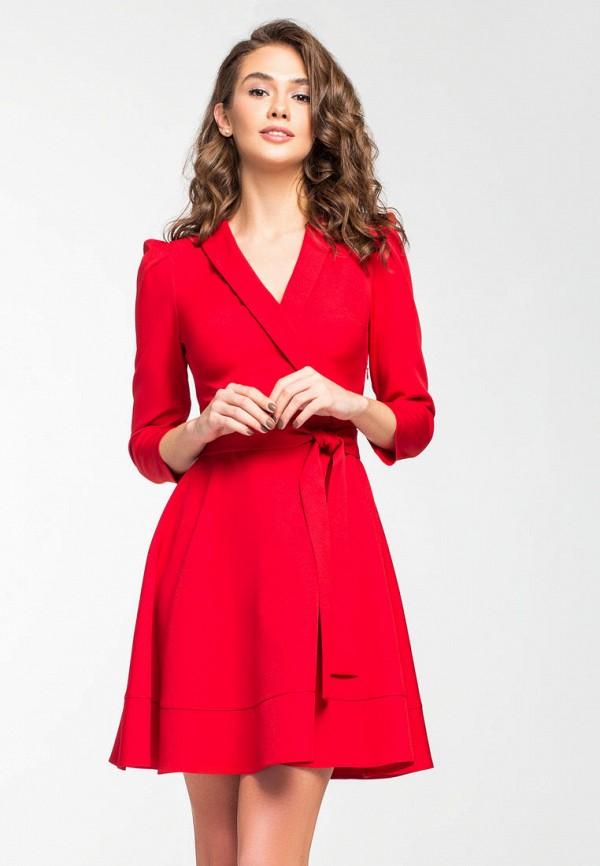 Купить Платье itelle, mp002xw1hxqo, красный, Осень-зима 2018/2019