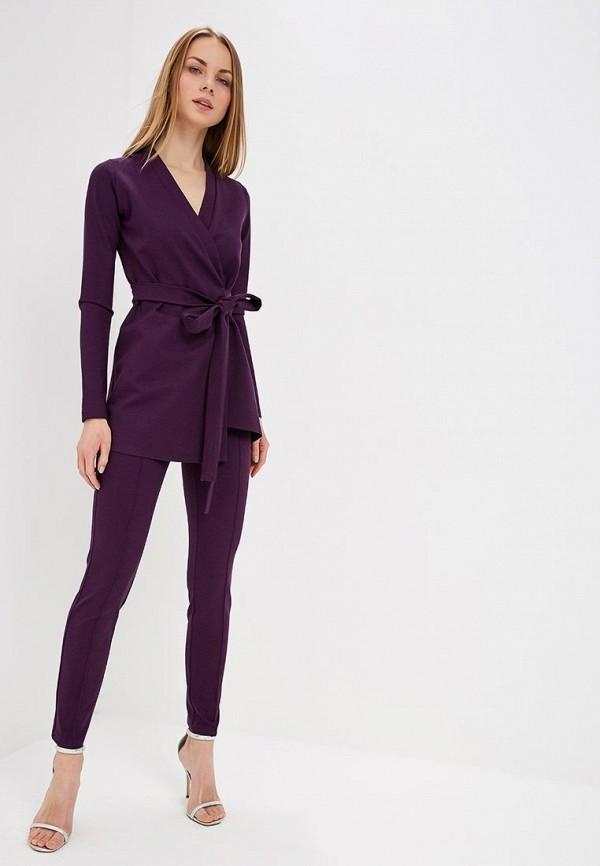 женский костюм toryz, фиолетовый