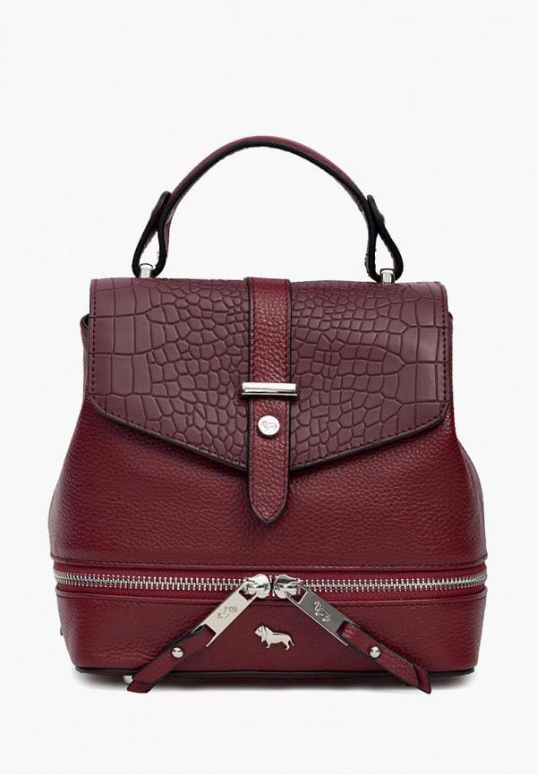 женский рюкзак labbra, бордовый