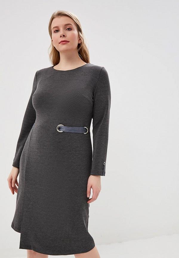 женское повседневные платье tantino, серое