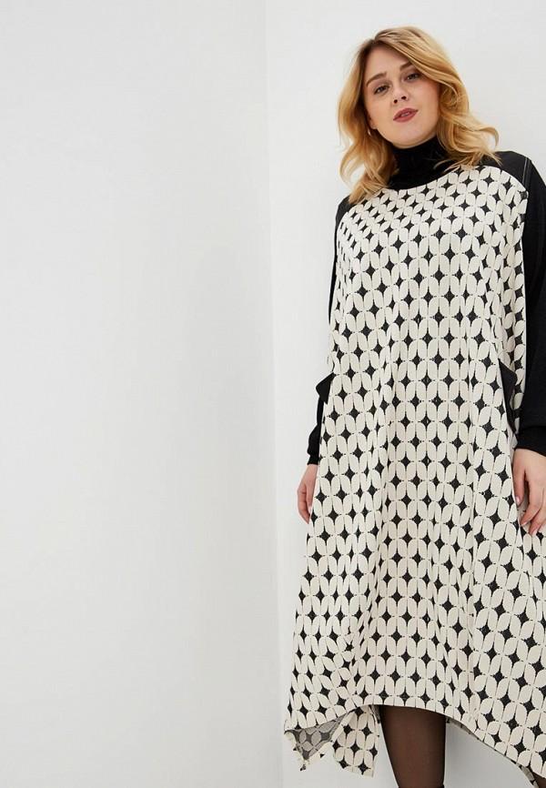 женское повседневные платье prewoman, бежевое