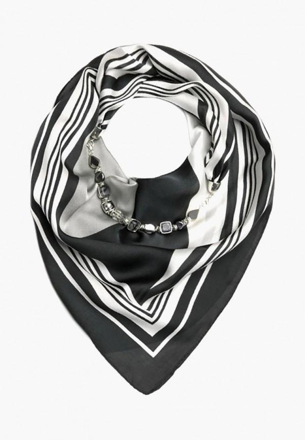 женский платок foxtrot, серый