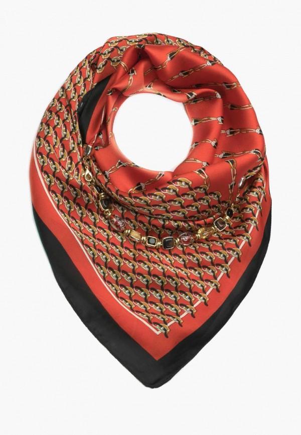 женский платок foxtrot, красный