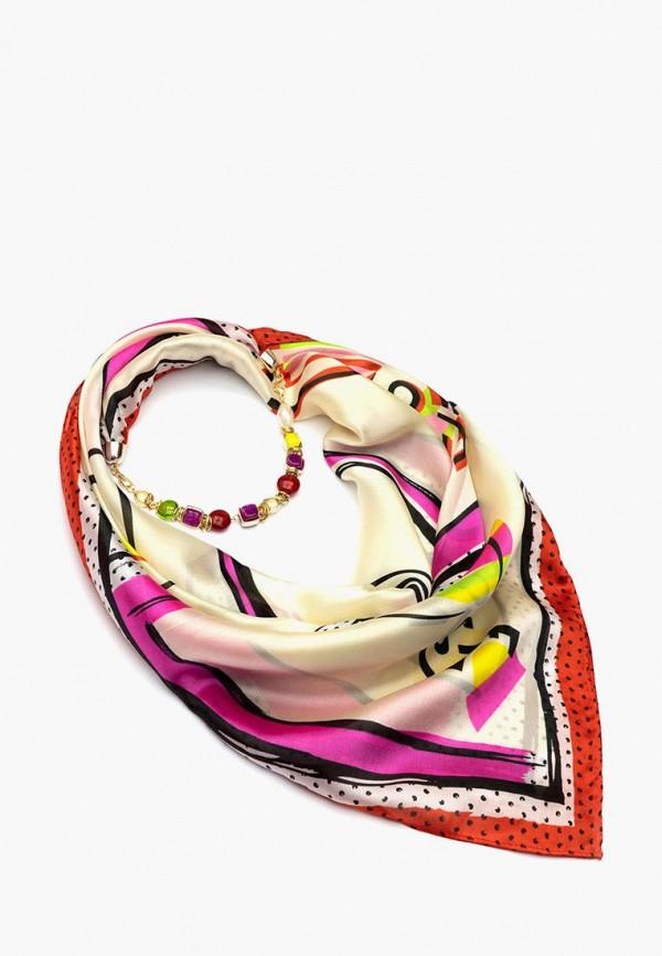 женский платок foxtrot, разноцветный
