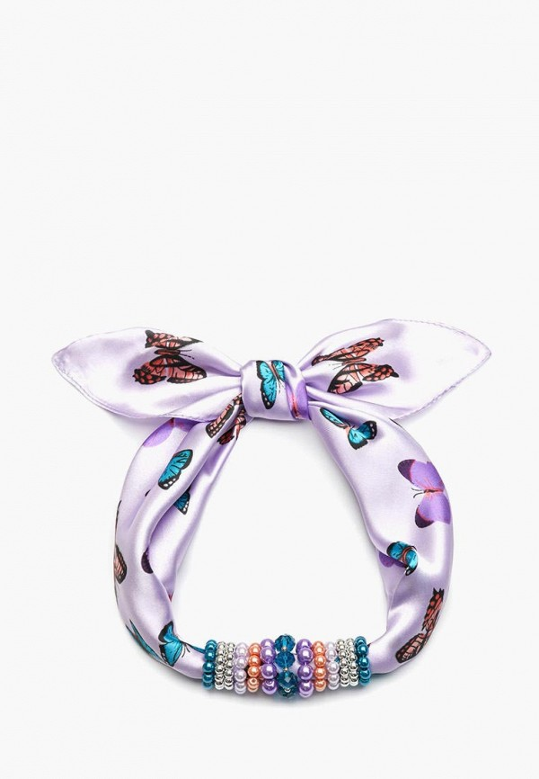 женский платок foxtrot, фиолетовый