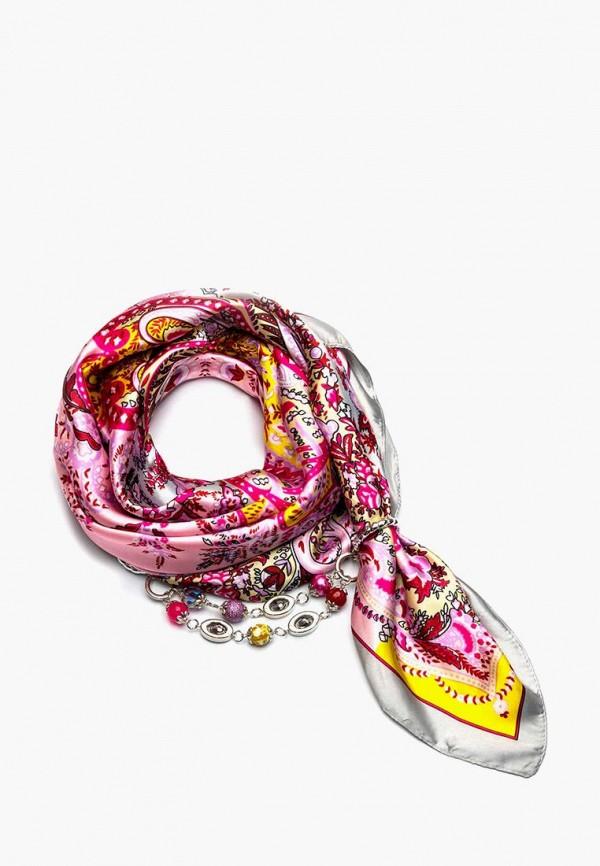 женский платок foxtrot, розовый
