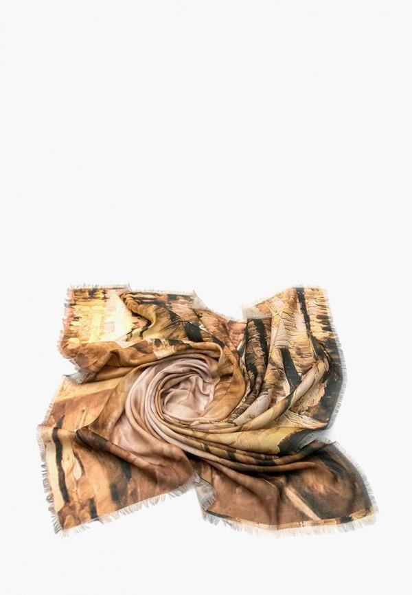 женский платок foxtrot, коричневый