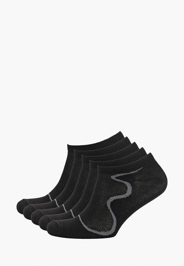 Носки 5 пар Alla Buone черного цвета
