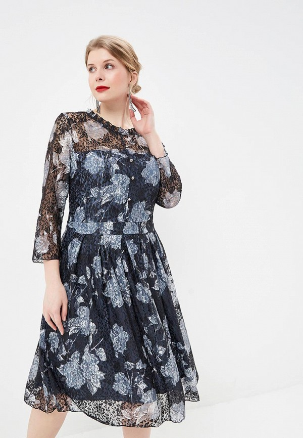 женское вечерние платье prewoman, серое
