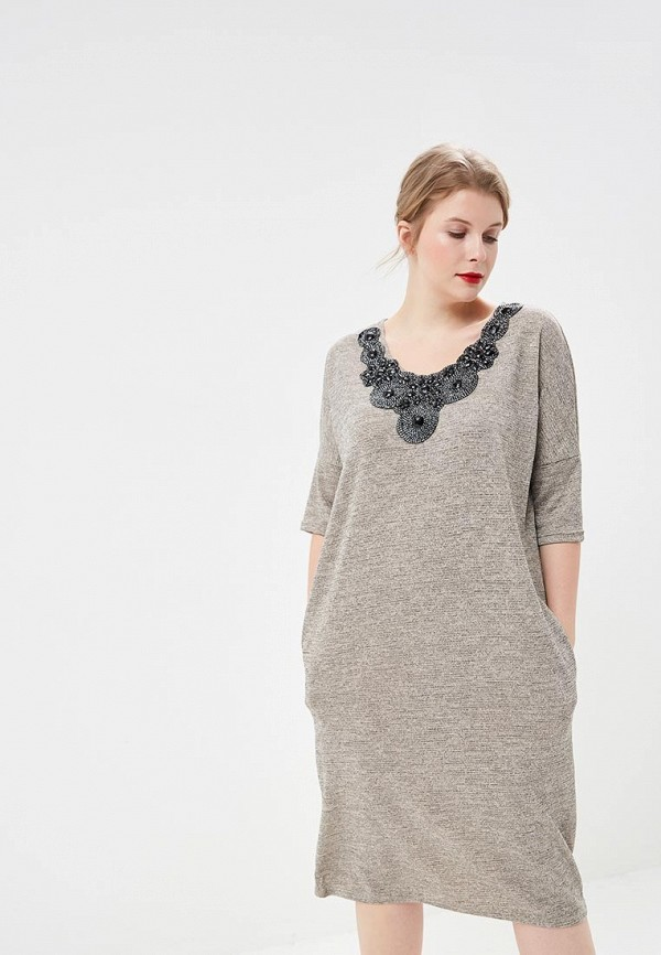 женское платье prewoman, бежевое