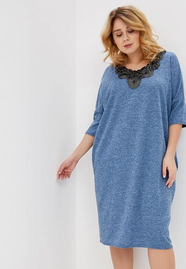 женское повседневные платье prewoman, голубое