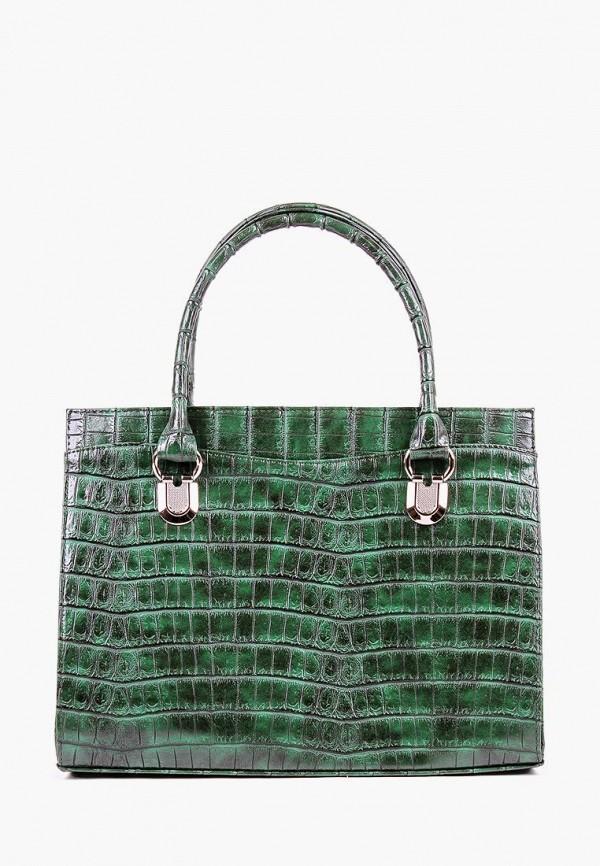 женская сумка медведково, зеленая
