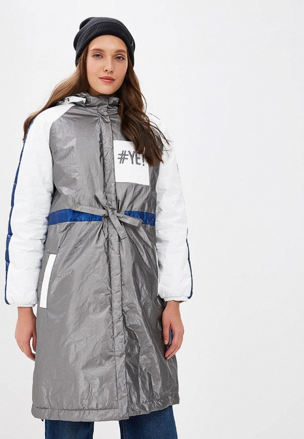 женское пальто pavel yerokin, серое