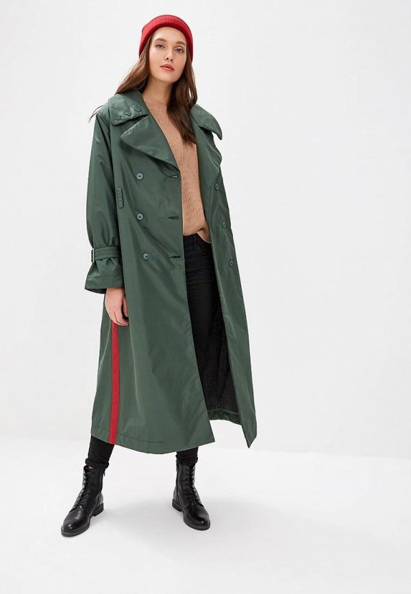 женская куртка pavel yerokin, хаки