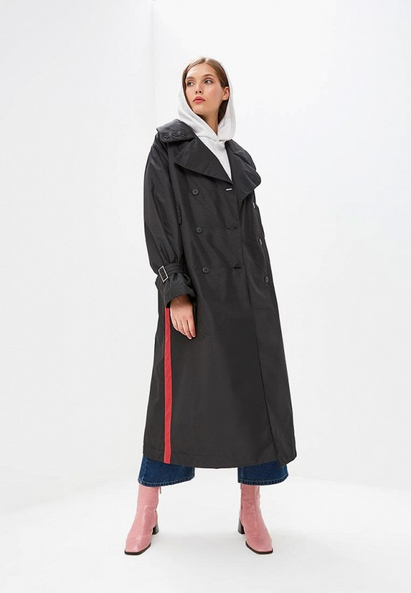 женское пальто pavel yerokin, черное