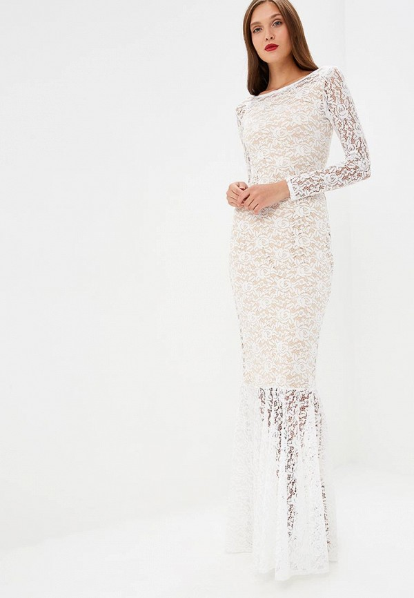 женское платье sseniore, бежевое
