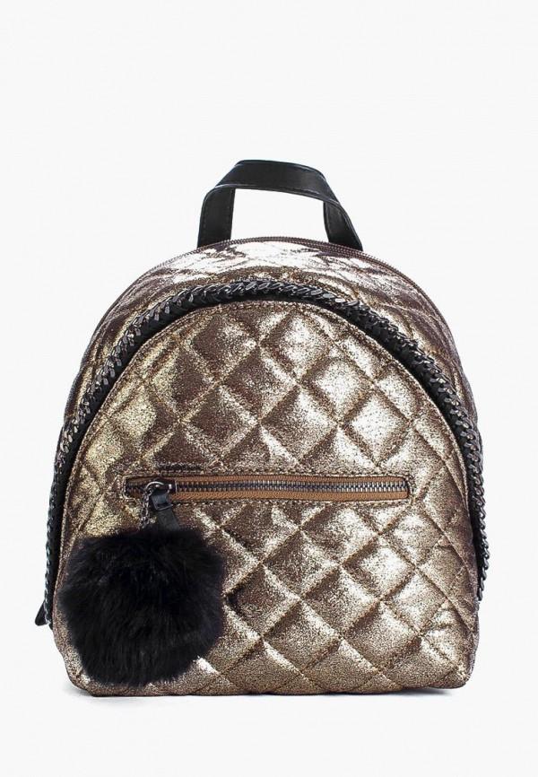 женский рюкзак david jones, золотой