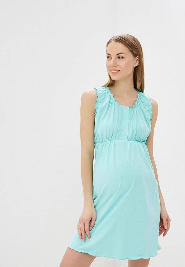 Сорочка ночная Hunny mammy Hunny mammy MP002XW1HYNP комплект одежды для беременных и кормящих hunny mammy халат сорочка ночная цвет бирюзовый серый 1 нмк 08520 размер 50