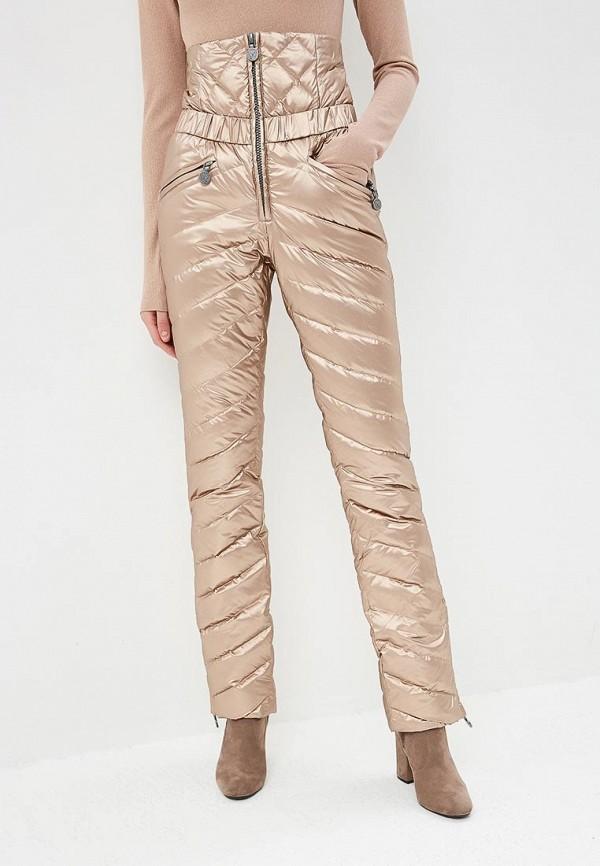 женские брюки naumi, золотые