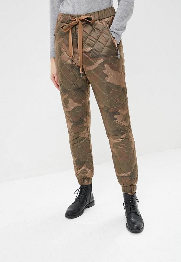 женские брюки naumi, коричневые