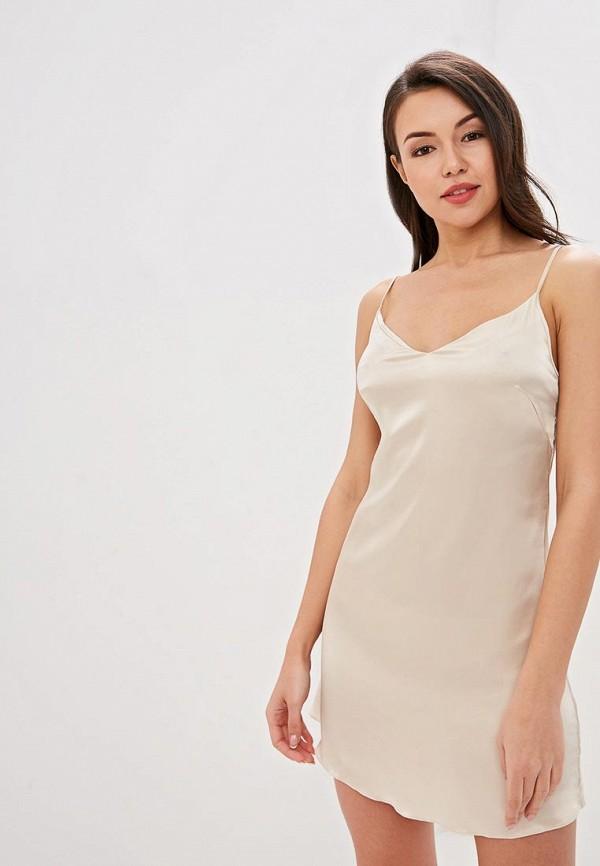Сорочка ночная LA DEA lingerie & homewear LA DEA lingerie & homewear MP002XW1HYUT sexy white lace hem lingerie with no falsies