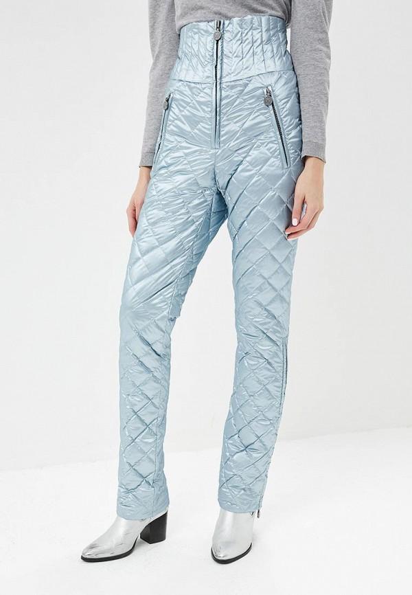 женские брюки naumi, голубые